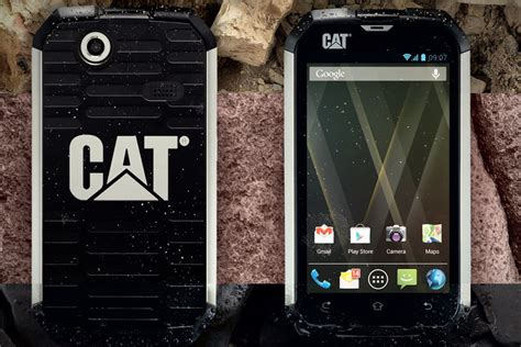 Cat Rugged Phone by Caterpillar Cat B15 Ruggedized Android Phone Mikeshouts