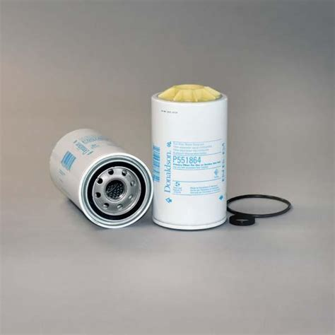 donaldson fuel filter water separator spin on p551864 donaldson filters
