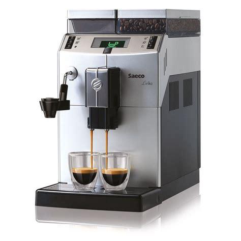 espresso maker how it saeco lirika compact automatic cappuccino espresso coffee
