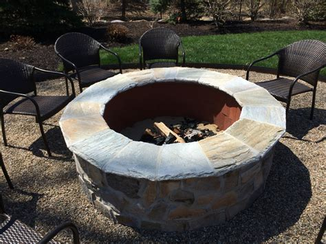 how to build a wood burning pit custom pits 171 outdoor living of new jersey