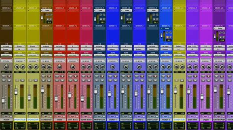 Pro Tools Tutorial Session Organization Creating A Mixing Template That Works For You Pro Tools Mixing Template