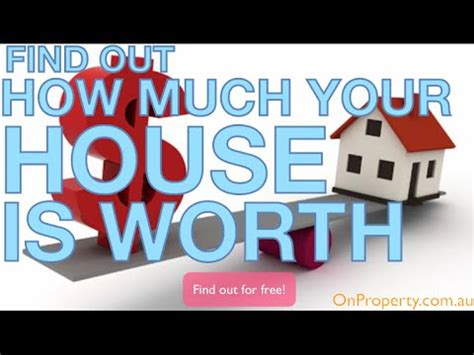 how to find out how much a house is worth how to find out how much your house is worth for free ep204 youtube