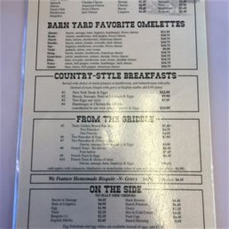 country style breakfast menu photos for jim s country style restaurant yelp