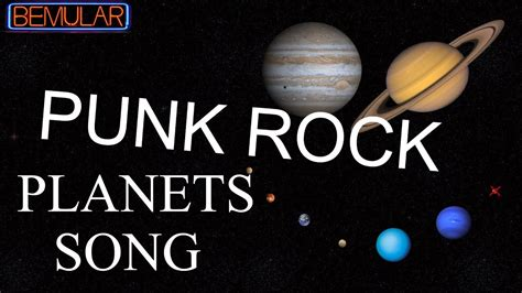 its a song on youtube rock around the christmas tree bemular rock planets song so educational
