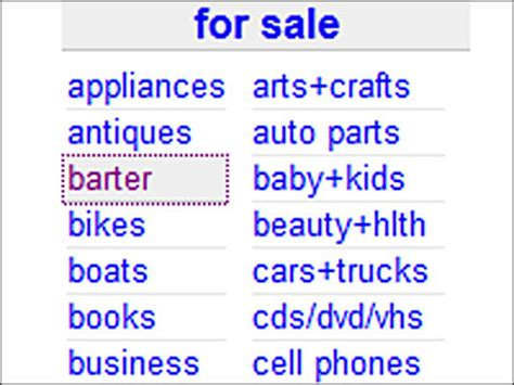 craigslist barter section craigslist barter in nashville tn