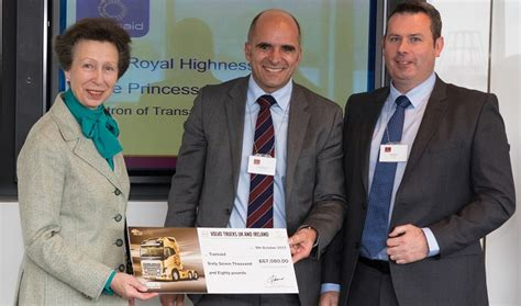 figure donation enables transaid  expand road safety projects truckanddrivercouk