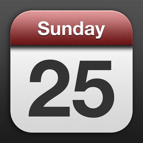 Calendar Iphone App 9 Iphone Calendar App Icon Images Ical Ical And Apple
