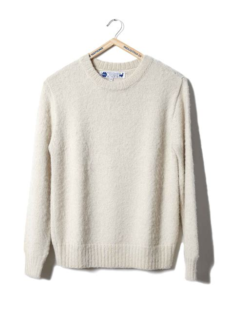 White Sweater bulky white sweater baggage clothing