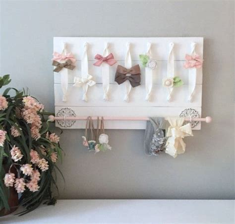 thrifty decorating old window hairbow holder hair bow holder hair bow organizer headband holder