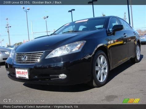 black lexus 2008 obsidian black 2008 lexus es 350 black interior