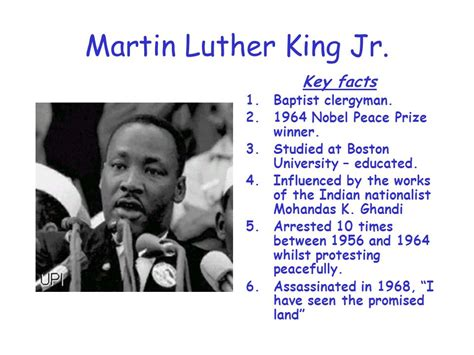 Mlk Biography Quick Facts | martin luther king v malcolm x non violence v militant