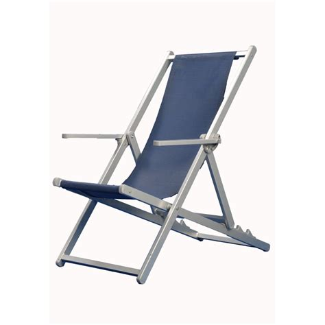 sedia sdraio giardino sedia sdraio con braccioli alluminio texilene 800 gr