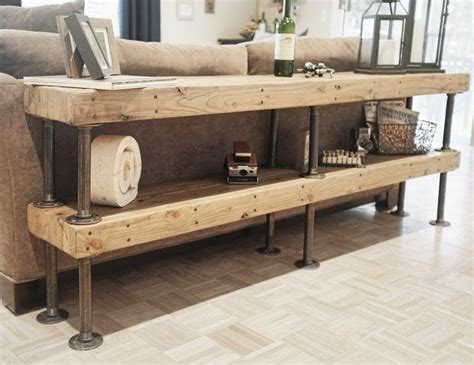 sofa table design what is a sofa table awesome rustic