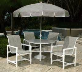 patio furniture pvc pvc sling