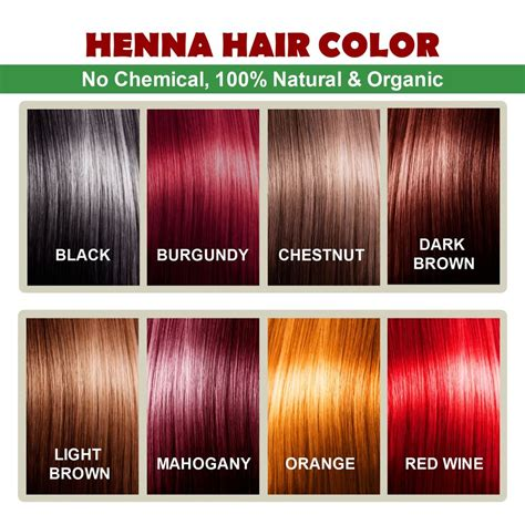 All Natural Henna Hair Dye | henna hair color 100 organic and natural way of