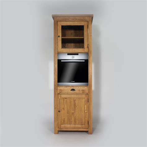 meubles pour cuisine colonne cuisine en bois pour four cagne made in meubles