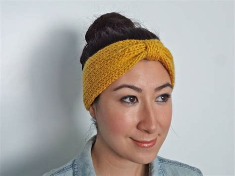 knitted headband patterns knit bowtie headband on etsy free pattern coming soon