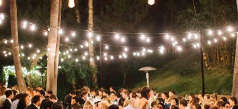 lights wedding reception outdoor wedding reception lighting tips werenttables