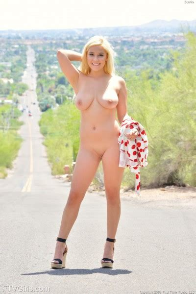 Bonnie Nude In Photos From First Time Video Girls