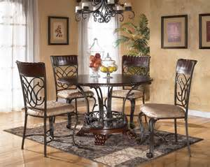Dining room round table image vintage wooden brown round dining room