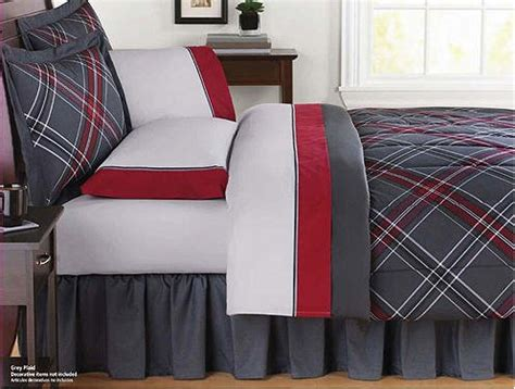 gray and red comforter set red bedding that sizzles and pops webnuggetz com