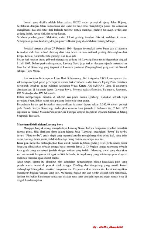 contoh karya tulis laporan perjalanan ke bali fontoh