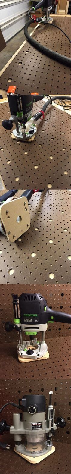 Hole Extensions Off Of 8020 Rail For Track Saw Guide Diy Multifunction Table Mft Pinterest Mft Drilling Template