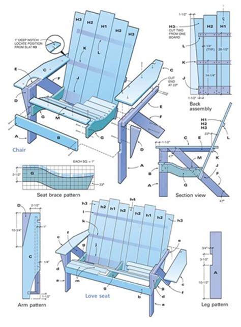 Free Adirondack Chair Plans Printable Adirondack Chair Template Printable