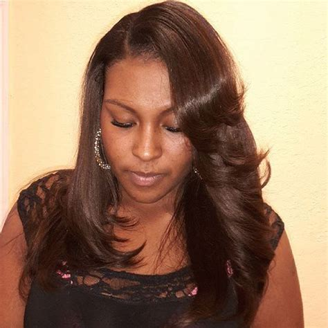 8 inch sew in hair styles short 8 inch sew in weave bob with swoop hairstyles long