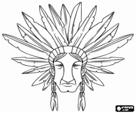 indian chief coloring page native americans or indians coloring pages printable games
