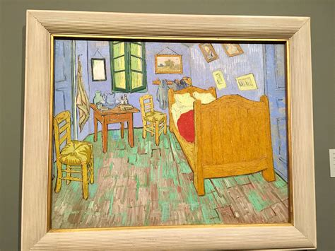 Bedroom At Arles Meaning Gogh The Bedroom Painting Santa Mini Storage 2