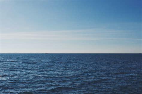 clouds  ocean sea horizon sky hd wallpaper