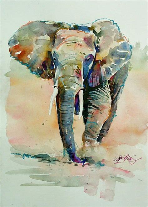 25 best ideas about elephant watercolor on elephant paintings of elephants and