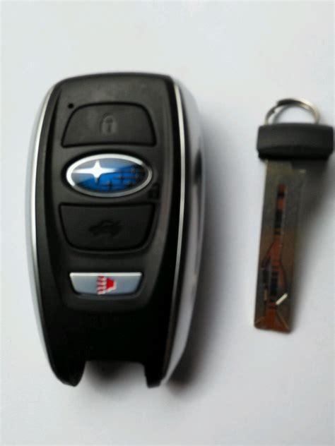 subaru outback 2015 smart key less entry remote oem fob security system control keyless entry