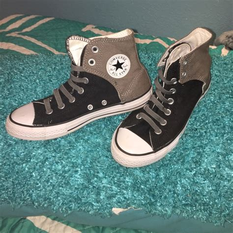 Converse All Navy Grey Black 30 converse other converse all grey and black