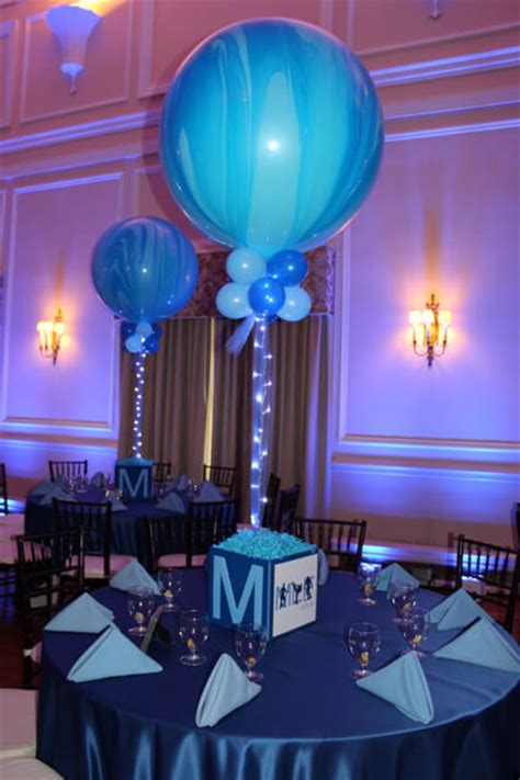 cube decorations photo cube centerpieces balloon artistry