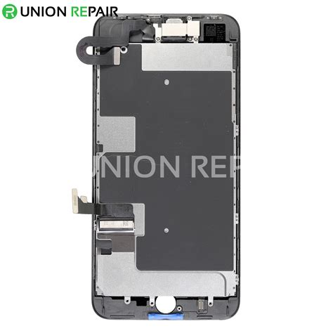 replacement for iphone 8 plus lcd screen assembly without home button black