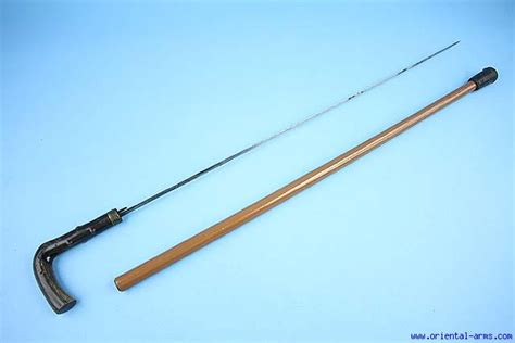walking stick with blade arms walking stick with concealed blade