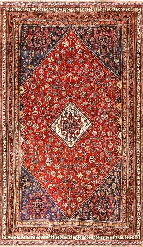 Tribal Persian Qashqai Antique Oriental Rug 50647 Tribal Rugs