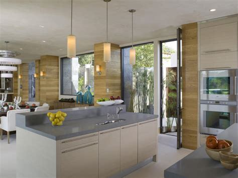 Dennis Kitchen Photography by Open Airy Kitchen Blends Seamlessly Into Living Room Hgtv