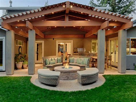 covered pit ideas planning ideas covered patio designs pictures of