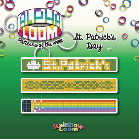 Alpha Loom Patterns | Rainbow Loom, an educational rubber ... Rainbow Loom Instruction Manual Patterns