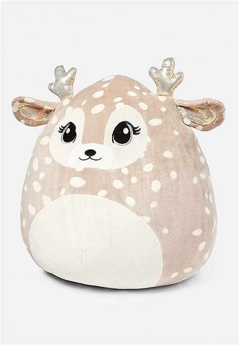 willow  deer squishmallow justice animal pillows cute stuffed animals unicorn bedroom