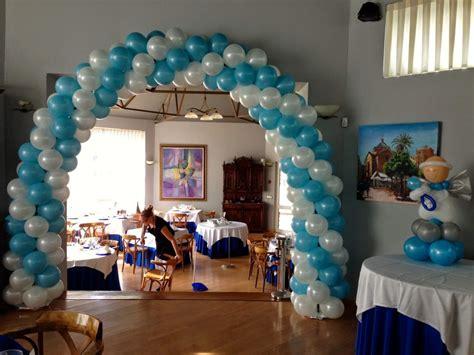decoracion de globos para bautizo decoracion de globos para bautizo globos con helio bautizo decoraci 243 n con globos bebeazul top