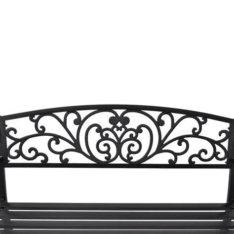 panchina in ghisa articoli per vidaxl panchina da giardino in ghisa nera