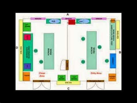 Sample Floor Plan Layout by Microbiology Lab Layout Youtube