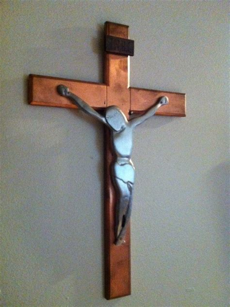 libro made by hand contemporary hand made modern crucifix by emerald models inc custommade com