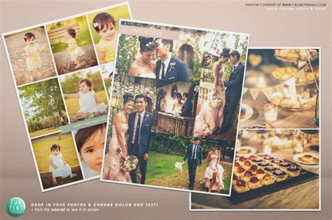 3 Blog boards collage template 16x20 ~ Flyer Templates on