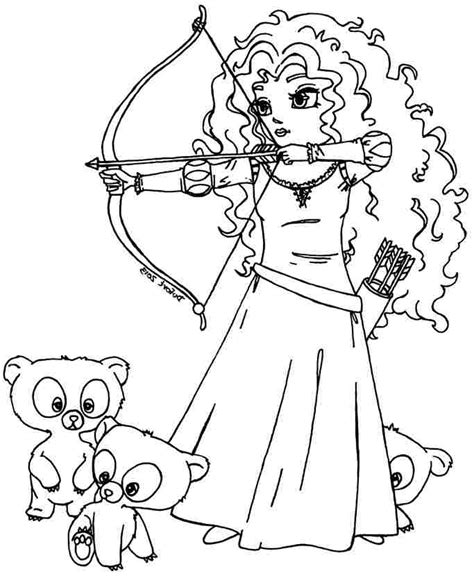 disney coloring pages merida brave coloring pages best coloring pages for kids