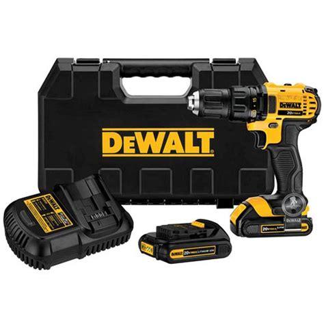 dewalt 20 volt max lithium ion cordless compact drill